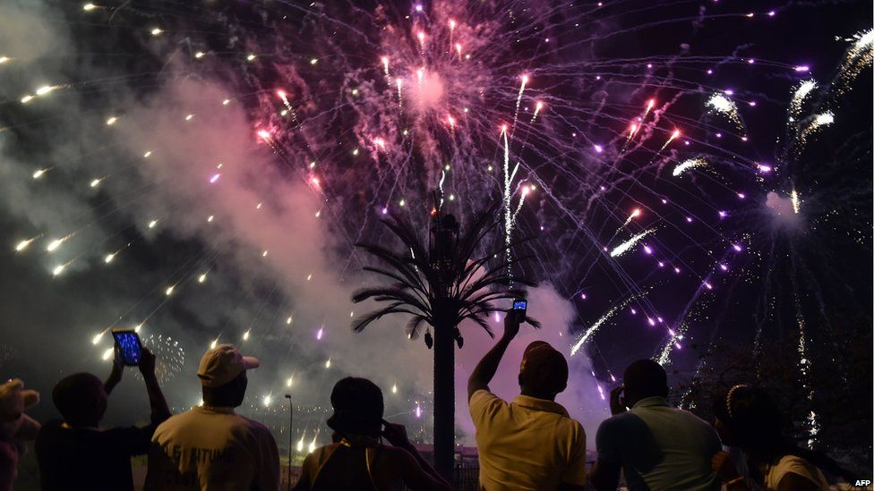 Image result for kenyans celebrating new year