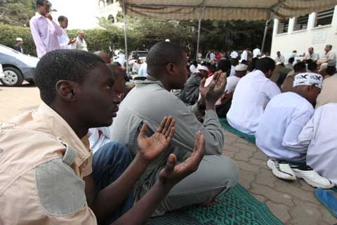 Ramadan ends today, monday in Kenya is public holiday